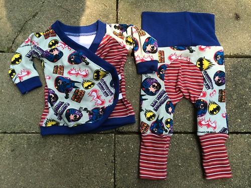 Bumstoppers BumSpot Pants 0-6 months Nanana Newborn Kimono