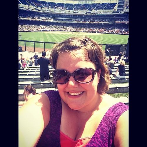 Another day, another #california #ballpark #selfie! #mlb #baseball #sdpadres #sandiego #petcopark #parkinthepark #kategoestocalifornia