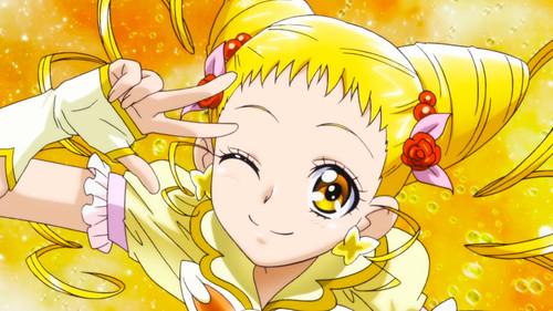 140804(1) - 春日野うらら / キュアレモネード〔春日野麗 / 星天使,Urara Kasugano is Cure Lemonade〕