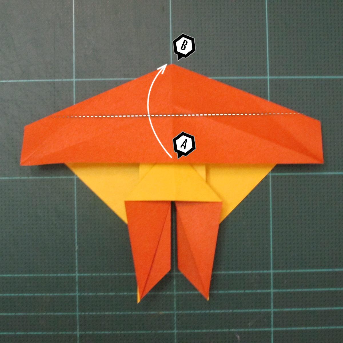 การพับกระดาษเป็นรูปปลาคาร์ฟ (Origami Koi Fish) 015