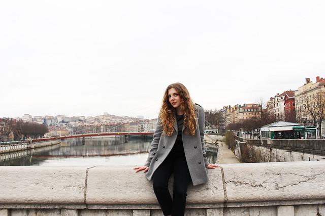 Sur le pont de Lyon
