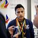 Recibimiento de la delegación de boxeo que compitió en Bulgaria y Alemania