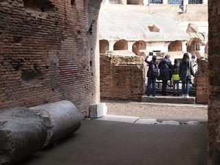 Image of Colosseum near Roma Capitale. trip20170208 rzym roma muzeumwatykańskie colosseum geo:lon=12491725 geo:lat=41890003