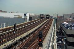 NEW YORK SUBWAYS--1171 (L), 5292 appr Yankee Stadium IB. 1 of 2