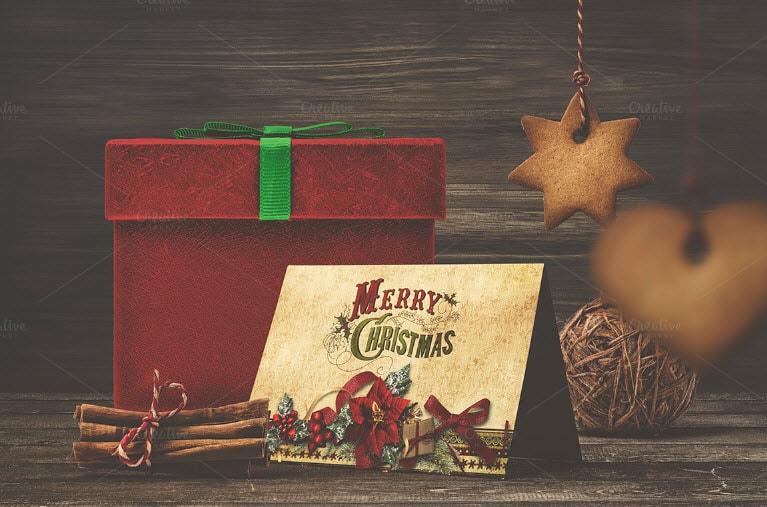 PSD Mockup Giáng Sinh - PSD Mockup Giáng Sinh