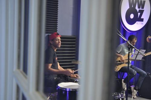 Alfred Jordan and Max Moran of Danny Abel Band. Photo by Leona Strassberg Steiner
