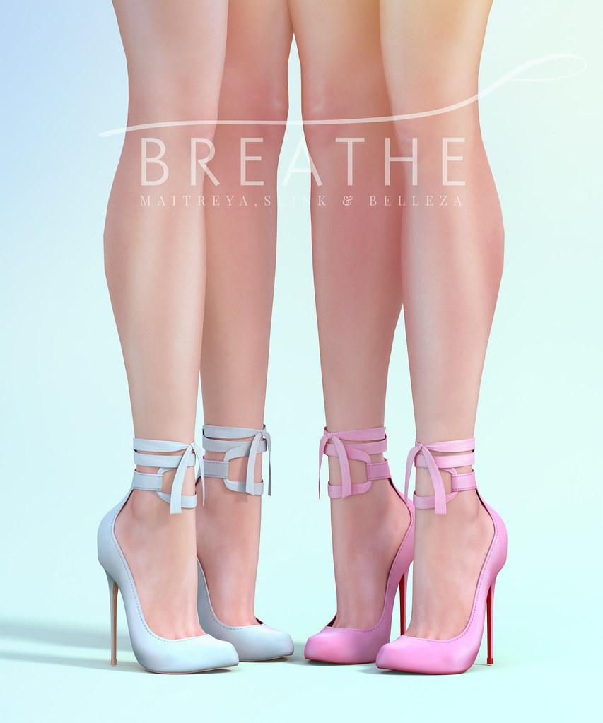 [BREATHE]-Jenele Heels - SecondLifeHub.com