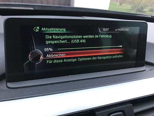 Update Kartenmaterial in meinem BMW