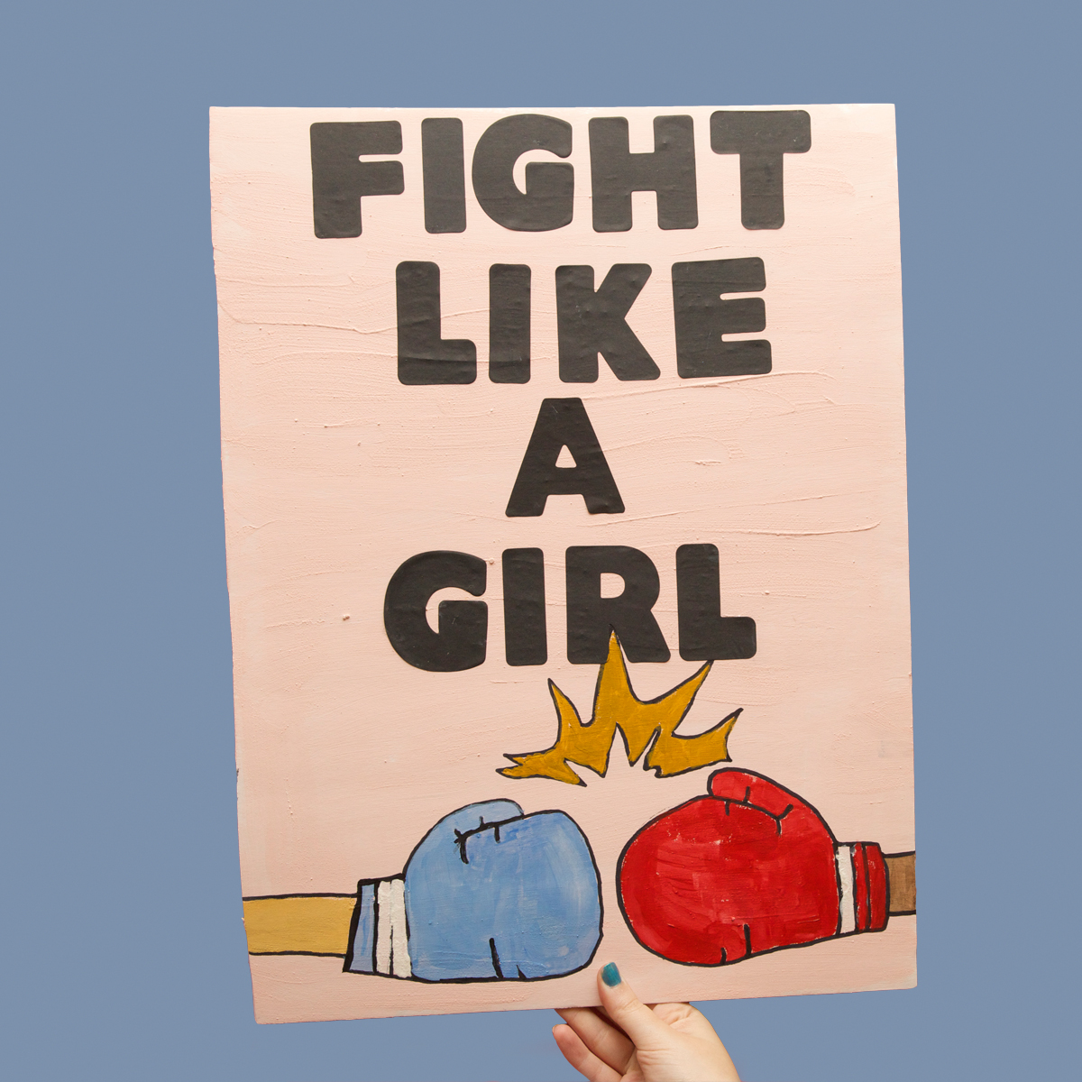 45 Protest Signs_Brandon and Olivia Locher_35_Fight Like A Girl