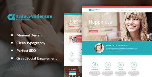 Psychologist WordPress Theme free download