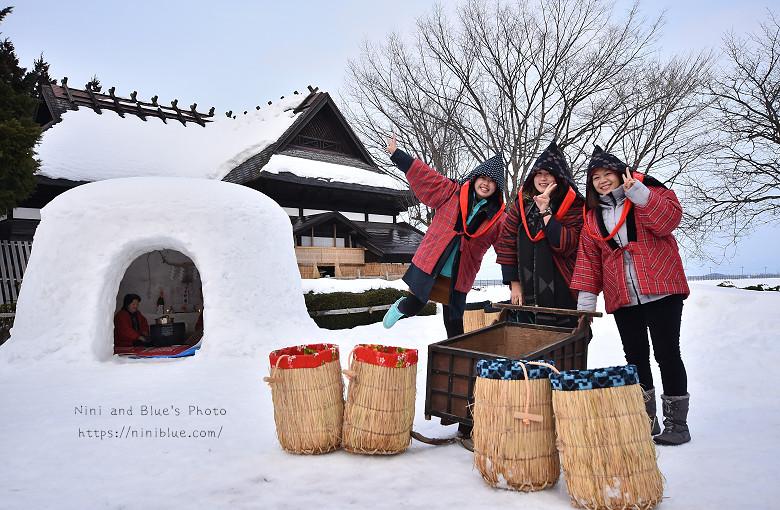日本東北秋田自助旅行雪屋祭典06