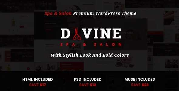 Divine WordPress Theme free download