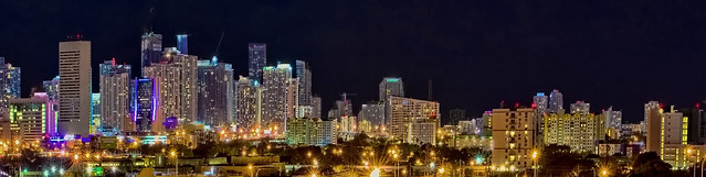 Panoramic Miami, Florida, USA / The Magic City