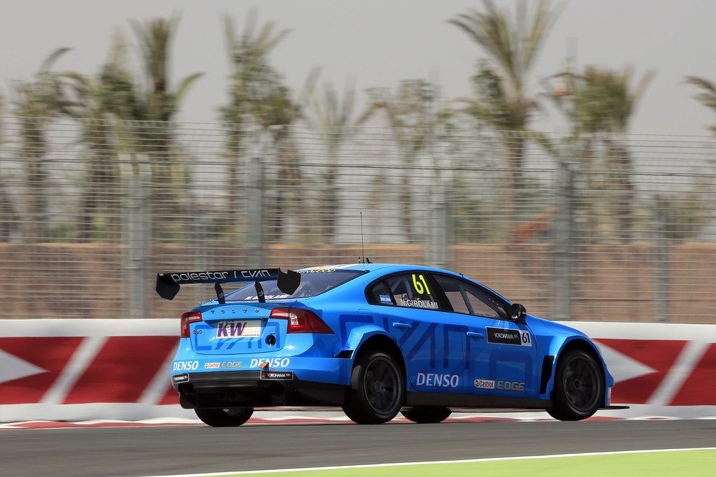 61 GIROLAMI Nestor (arg) Volvo S60 Polestar team Polestar Cyan Racing action during the 2017 FIA WTCC World Touring Car Race of Morocco at Marrakech, from April 7 to 9 - Photo Paulo Maria / DPPI