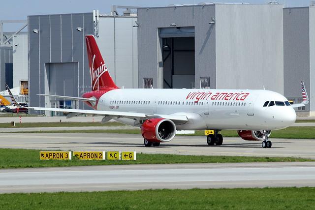 N921VA // Virgin America // A321-253N // MSN 7589