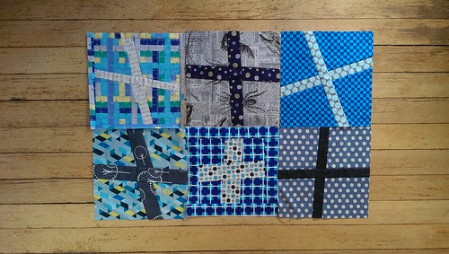 Wonky crosses for ST quilt