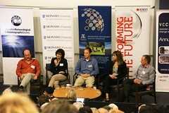 Panel discussion on climate impacts at Melbourne presentation on IPCC Working Group II report on Climate Impacts