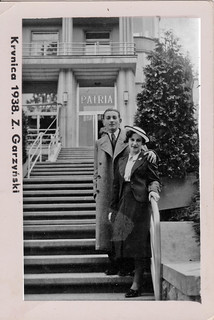 Couple On the Steps 1938