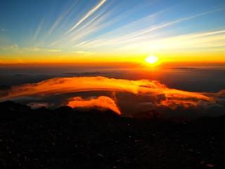 Sunrise, Mount Merapi