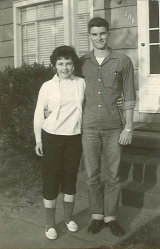 My parents.  Mom is 15 and Dad is 16.