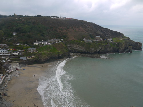 Back at Trevaunance Cove
