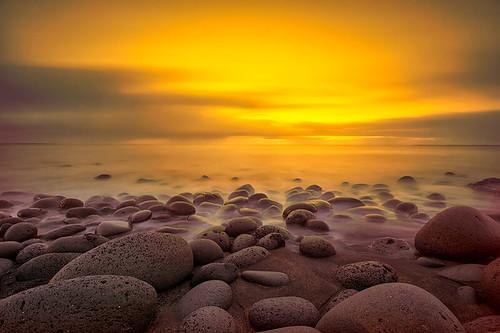 ocean sunset sun iceland nikon rocks atlantis nikkor halldor skyfire 1024 2014 ingi hvaleyri d7100