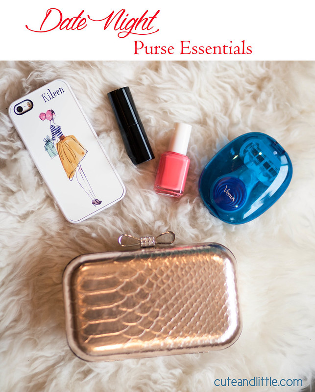 cute & little blog | date night purse essentials