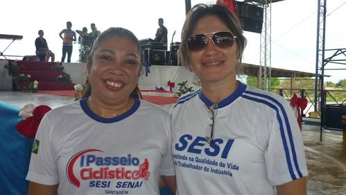 As organzadoras Ligia Oliveira e Eriana Coelho