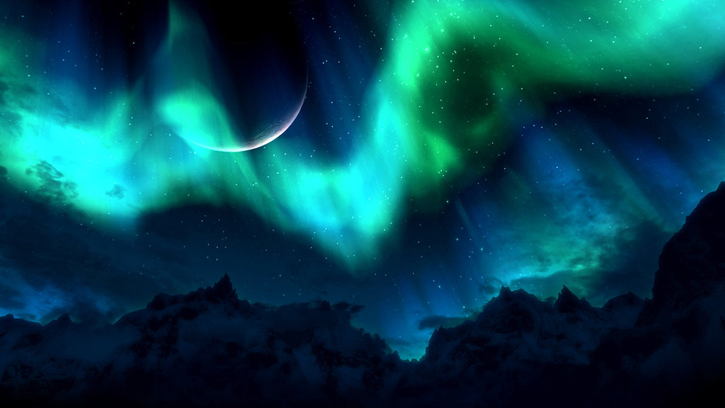 Northern Lights. Click To Zoom