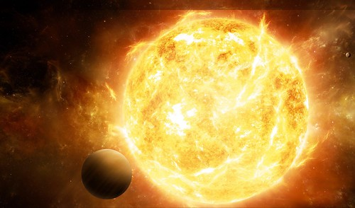Star Cycle: Red giant star