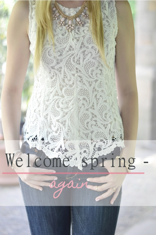 Outfit Welcome spring - again Banner
