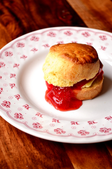 Recipe for British Scones