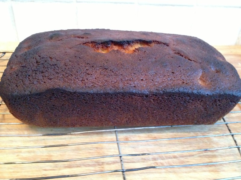 Cherry Coconut Loaf : Leave to Cool
