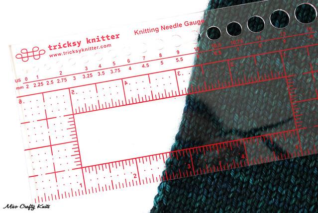 Tricksy Knitter Ruler