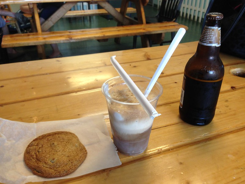 Chocolate Chip Cookie and Rootbeer Float