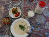 Traditional Tea-House Sofrakhane Sonati Ebrahimabad Ardabil Iran