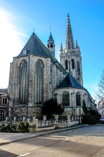 Iglesia de Santa Gertrudis en Lovaina