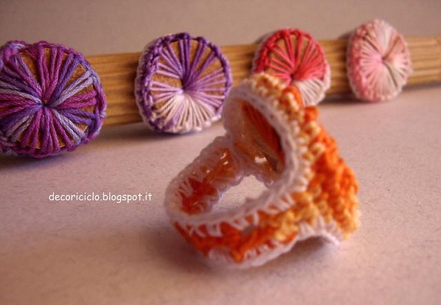 anelli di sughero e cotone 3