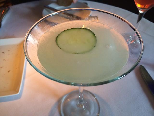 Cucumber Gimlet cocktail - Boulevard