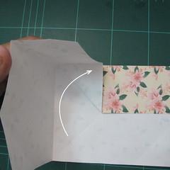การพับกระดาษเป้นถุงของขวัญแบบไม่ใช้กาว (Origami Gift Bag) 006