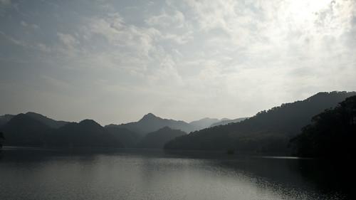 遠眺翡翠水庫。圖片來源:林務局
