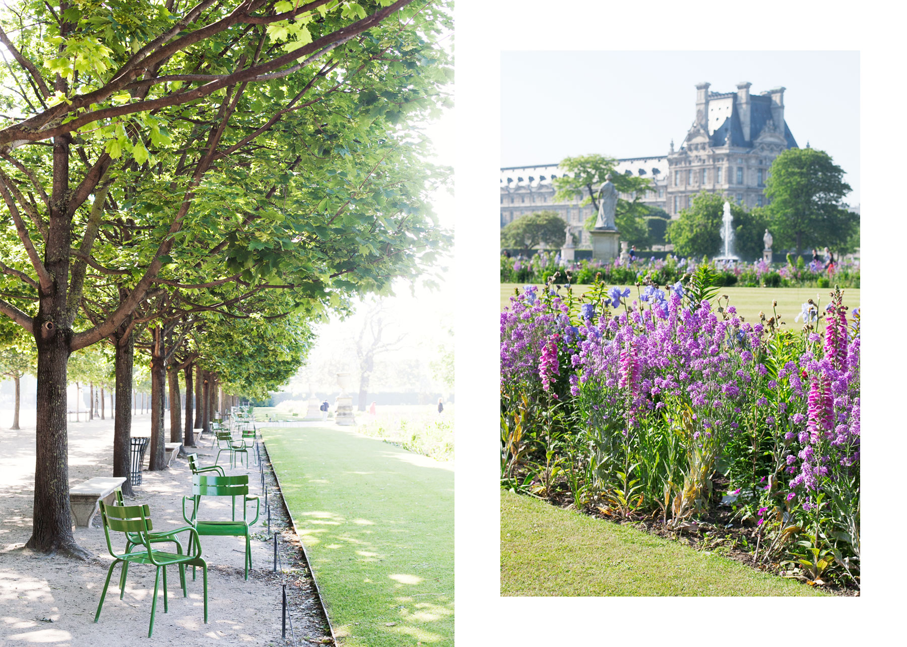 Jardin des Tuileries by Carin Olsson (Paris in Four Months)