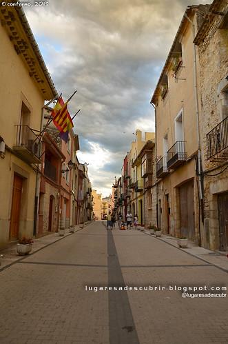 Calle de Sant Mateu (Castellón, Comunidad Valenciana)