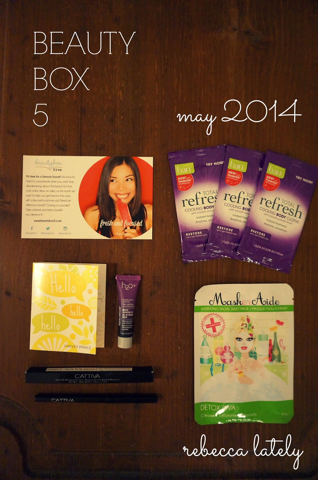 Beauty Box 5 May 2014