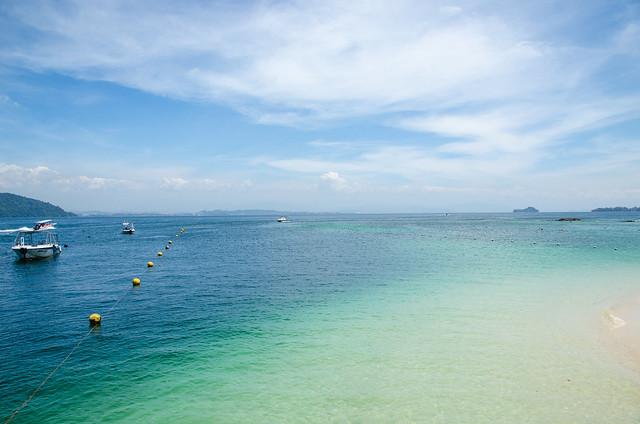 Pulau Sapi and Pulau Manukan at Taman Tunku Abdul Rahman, Sabah