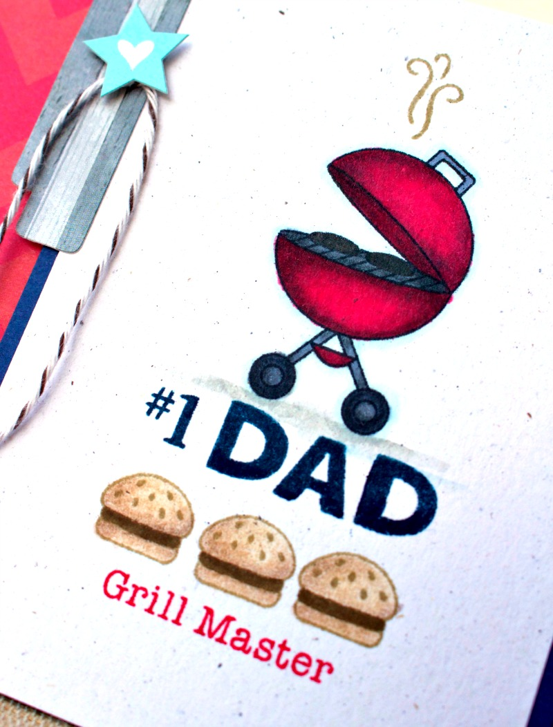 NEWTONS NOOK DESIGNS Grill Master Card 2
