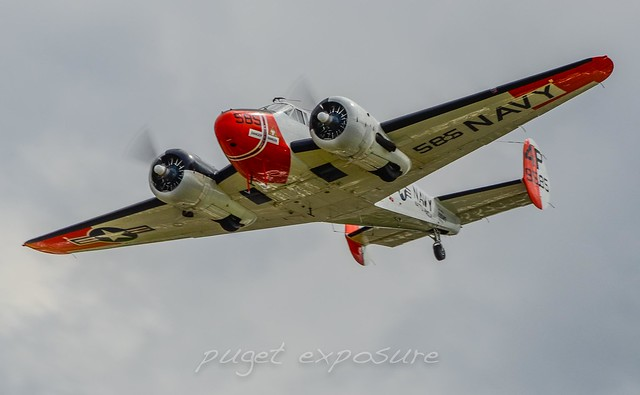 Historic Flight Foundation, Beech RC-45J