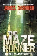 The Maze Runner book cover.