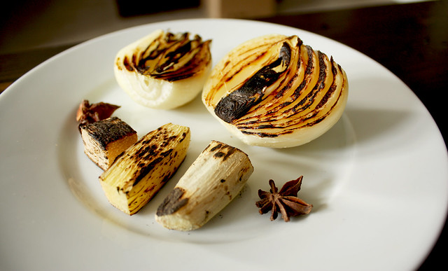 Charred Onion and Ginger