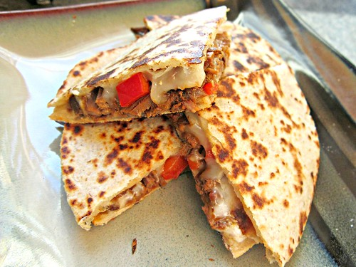 Chipotle Beef Quesadilla